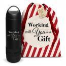 Bluetooth Speaker Bottle Holiday Gift Set