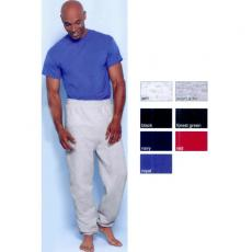 Clothing Sweat Pants - Gildan<sup>®</sup> - Black;Forest Green;Navy;Red;Royal - L;M;S;XL -  Adult, sweat pants with elastic waistband made of 50% cotton / 50% polyester. Blank