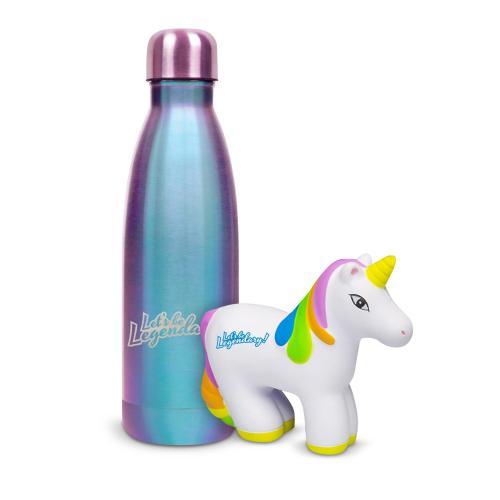 Let's Be Legendary Unicorn Shimmer Swig Gift Set