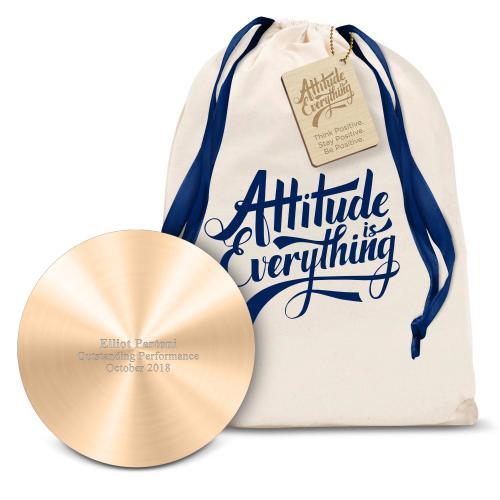 Gold Metal Power Bank Gift Set