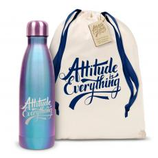 Swells & Swigs - Attitude is Everything 17oz Shimmer Swig