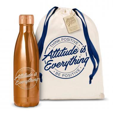 Attitude is Everything Circle 17oz Shimmer Swig