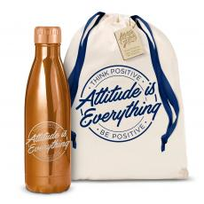 Swells & Swigs - Attitude is Everything Circle 17oz Shimmer Swig