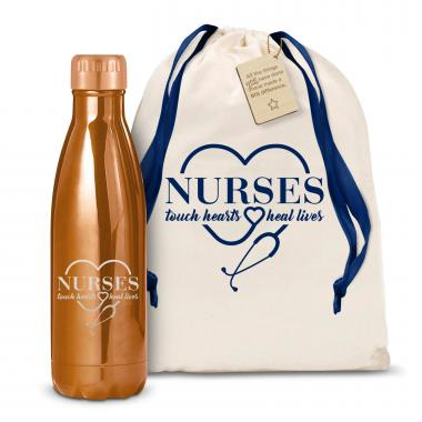Nurses Touch Hearts 17oz Shimmer Swig