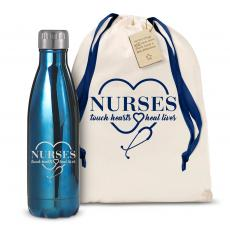 Swells & Swigs - Nurses Touch Hearts 17oz Shimmer Swig