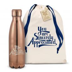 Executive Gifts - Sincerely Appreciated 17oz Shimmer Swig