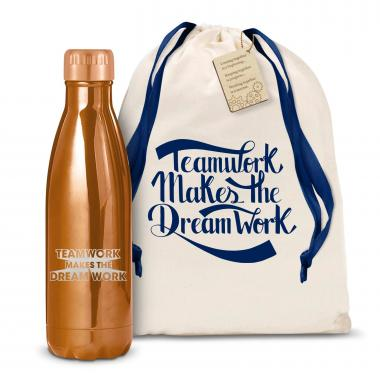 Teamwork Dream Work 3D 17oz Shimmer Swig