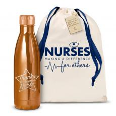 Swells & Swigs - Thanks Nurse Star 17oz Shimmer Swig