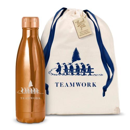 Teamwork Gift 17oz Shimmer Swig