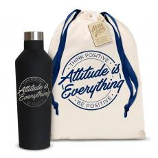 Canteens - Attitude is Everything Circle 16oz. Stainless Steel Canteen
