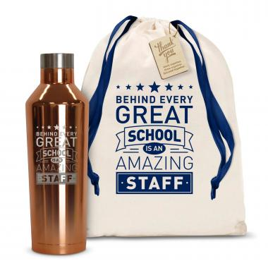 Behind Every Great School 16oz. Stainless Steel Canteen