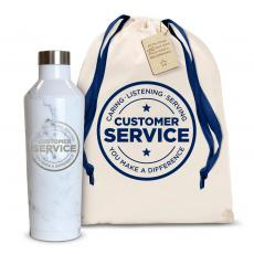 Service - Customer Service 16oz. Stainless Steel Canteen