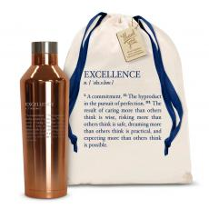 Executive Gifts - Excellence Definition 16oz. Stainless Steel Canteen