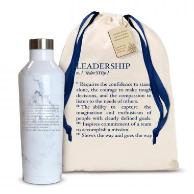 Leadership Definition 16oz. Stainless Steel Canteen