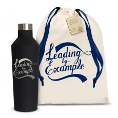 Backpacks - Leading by Example 16oz. Stainless Steel Canteen