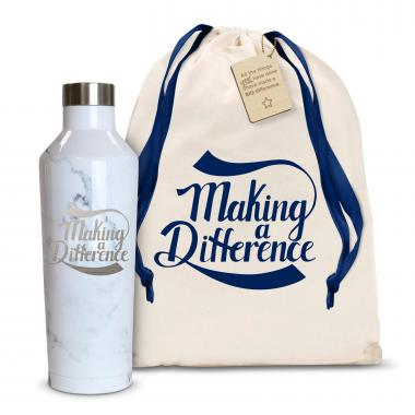 Making a Difference 16oz. Stainless Steel Canteen