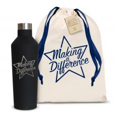 Making a Difference Star 16oz. Stainless Steel Canteen