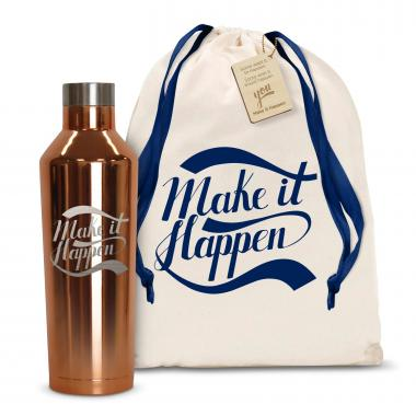 Make it Happen 16oz. Stainless Steel Canteen