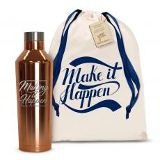 Canteens - Make it Happen Square 16oz. Stainless Steel Canteen