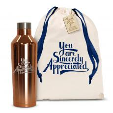 Canteens - Sincerely Appreciated 16oz. Stainless Steel Canteen