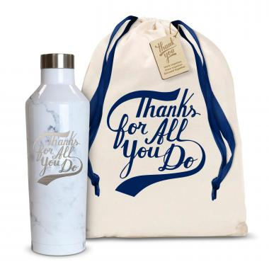 Thanks for All You Do 16oz. Stainless Steel Canteen