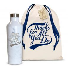 Thank You Gifts - Thanks for All You Do 16oz. Stainless Steel Canteen