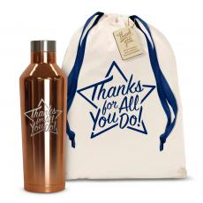 Corkcicles and Canteens - Thanks for All You Do Star 16oz. Stainless Steel Canteen