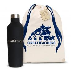 Canteens - Teachers Building Futures 16oz. Stainless Steel Canteen