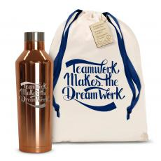 Teamwork Dream Work 16oz. Stainless Steel Canteen