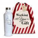 16oz. Stainless Steel Canteen Holiday Gift Set