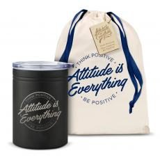 Can Koozies - Attitude is Everything Circle Can Cozy