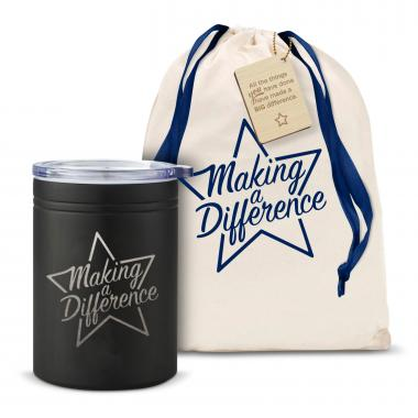Making a Difference Star Can Cozy
