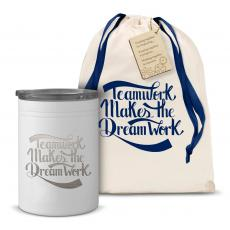 Can Koozies - Teamwork Dream Work Can Cozy