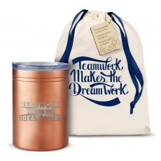 Can Koozies - Teamwork Dream Work 3D Can Cozy
