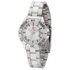 Fashion Accessories - Women's 33mm -  Watch with brushed silver metal case
