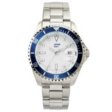 Fashion Accessories - Ladies' -  Watch with silver finish and magnified date display