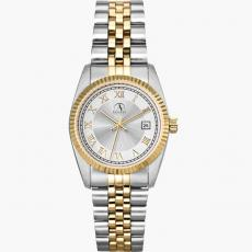 Fashion Accessories - Men's -  Watch with two tone silver and gold finish
