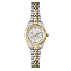 Fashion Accessories - Ladies' -  Watch with two tone silver and gold finish