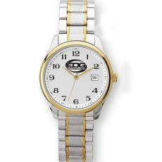 Fashion Accessories - Men's -  Watch with two tone silver and gold finish and date display