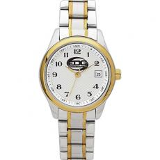 Fashion Accessories - Ladies' -  Watch with two tone silver and gold finish and date display