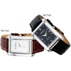 Fashion Accessories - Men's -  Watch with black dial, metal case, mineral crystal