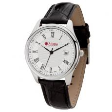 Fashion Accessories - Men's 36mm -  Watch with polished silver metal case