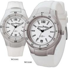 Fashion Accessories - Men's -  Watch with silver finishing and water resistant to 3 ATM