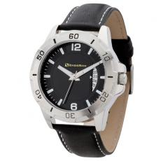 Fashion Accessories - Men's 41mm -  Watch with brushed silver metal case