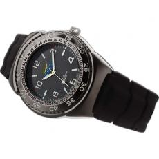 Fashion Accessories - Unisex watch with black dial and gun metal case finish