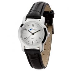 Fashion Accessories - Women's 27mm -  Classic style watch with polished silver finish
