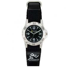 Fashion Accessories - Unisex sport style watch with hook and loop closure strap