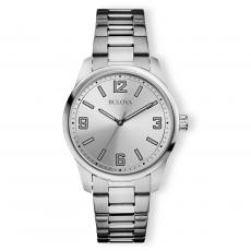 Clocks & Watches - Bulova Round Stainless Steel Custom Watch
