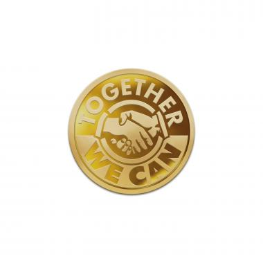 Together We Can Classic Lapel Pin