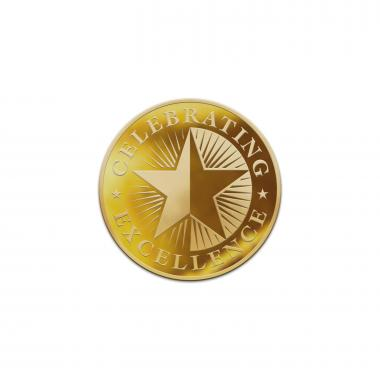 Celebrating Excellence Classic Lapel Pin